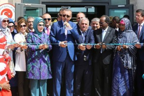 Erdoğan opens Turkish largest  embassy in Somalia (VIDEO)